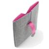 Чехол PadCover iPad2, cеро- розовый, DICOTA