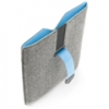 Чехол PadCover iPad2, cеро- синий, DICOTA