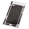 Защитная пленка Carbon для iPhone 4/4s черная, HAMA