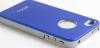 Чехол Aluminum для iPhone 4/4s, голубой, HOCO