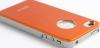 Чехол Aluminum для iPhone 4/4s, оранж, HOCO