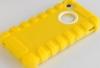 Чехол Silica для iPhone 4/4s, желтый, HOCO