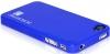 Футляр Piano для iPhone 4/4s, голубой, Borofone