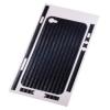 Защитная пленка Carbon для iPhone 4/4s синяя, HAMA